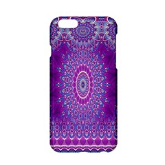 India Ornaments Mandala Pillar Blue Violet Apple iPhone 6/6S Hardshell Case