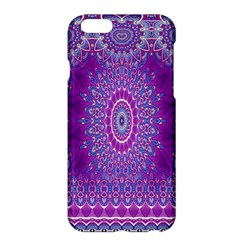 India Ornaments Mandala Pillar Blue Violet Apple iPhone 6 Plus/6S Plus Hardshell Case