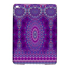India Ornaments Mandala Pillar Blue Violet iPad Air 2 Hardshell Cases