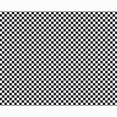 Sports Racing Chess Squares Black White Canvas 16  X 20   by EDDArt