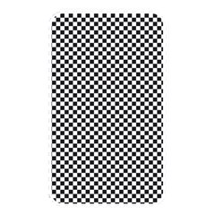 Sports Racing Chess Squares Black White Memory Card Reader by EDDArt