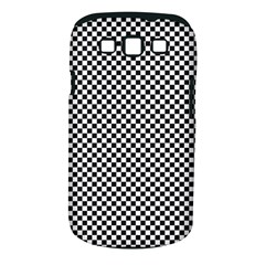 Sports Racing Chess Squares Black White Samsung Galaxy S Iii Classic Hardshell Case (pc+silicone) by EDDArt