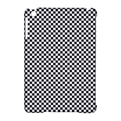 Sports Racing Chess Squares Black White Apple Ipad Mini Hardshell Case (compatible With Smart Cover) by EDDArt