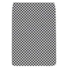 Sports Racing Chess Squares Black White Flap Covers (l)  by EDDArt