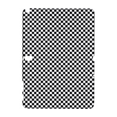 Sports Racing Chess Squares Black White Samsung Galaxy Note 10 1 (p600) Hardshell Case by EDDArt