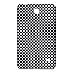 Sports Racing Chess Squares Black White Samsung Galaxy Tab 4 (8 ) Hardshell Case  by EDDArt