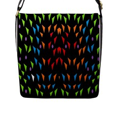 ;; Flap Messenger Bag (L)