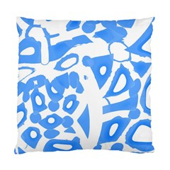 Blue Summer Design Standard Cushion Case (one Side) by Valentinaart