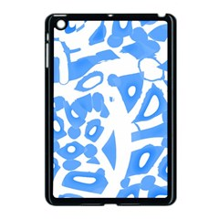 Blue Summer Design Apple Ipad Mini Case (black) by Valentinaart
