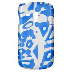 Blue Summer Design Samsung Galaxy S3 Mini I8190 Hardshell Case by Valentinaart
