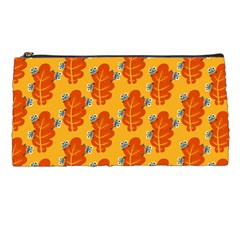 Bugs Eat Autumn Leaf Pattern Pencil Cases by CreaturesStore