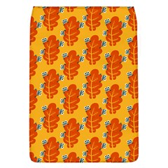 Bugs Eat Autumn Leaf Pattern Flap Covers (l)  by CreaturesStore