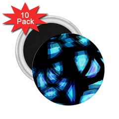 Blue light 2.25  Magnets (10 pack)