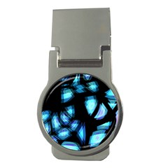 Blue light Money Clips (Round)