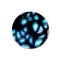 Blue light Magnet 3  (Round)