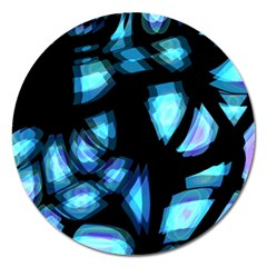 Blue light Magnet 5  (Round)