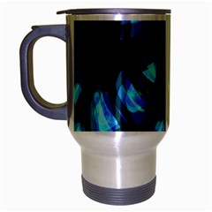 Blue light Travel Mug (Silver Gray)