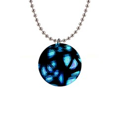 Blue light Button Necklaces