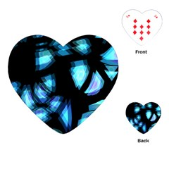 Blue light Playing Cards (Heart)