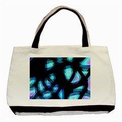 Blue light Basic Tote Bag (Two Sides)