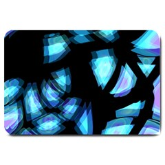 Blue light Large Doormat