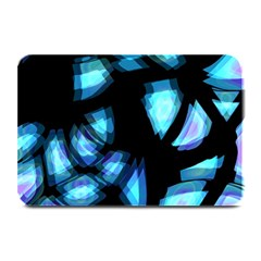Blue Light Plate Mats by Valentinaart