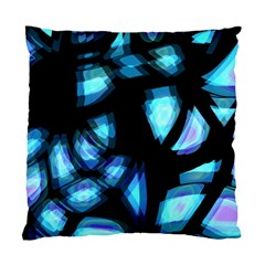 Blue light Standard Cushion Case (One Side)