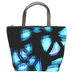 Blue light Bucket Bags