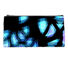 Blue light Pencil Cases