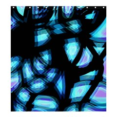 Blue light Shower Curtain 66  x 72  (Large)