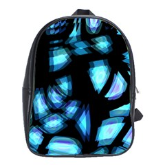 Blue light School Bags(Large)