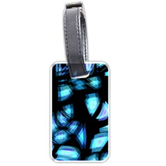 Blue light Luggage Tags (One Side)