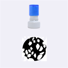 Blue light Rubber Round Stamps (Small)