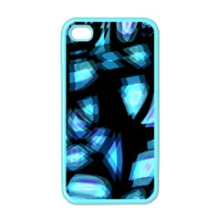Blue light Apple iPhone 4 Case (Color)