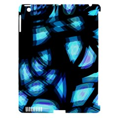 Blue light Apple iPad 3/4 Hardshell Case (Compatible with Smart Cover)