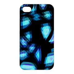 Blue light Apple iPhone 4/4S Premium Hardshell Case