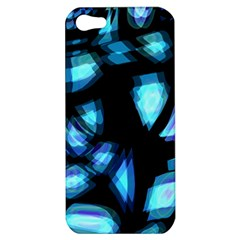 Blue light Apple iPhone 5 Hardshell Case