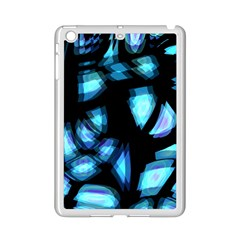 Blue Light Ipad Mini 2 Enamel Coated Cases by Valentinaart