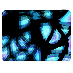 Blue light Samsung Galaxy Tab 7  P1000 Flip Case