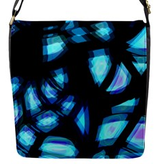 Blue light Flap Messenger Bag (S)