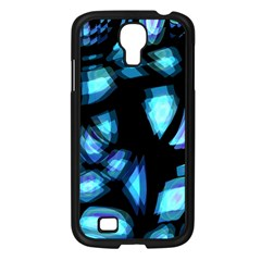 Blue light Samsung Galaxy S4 I9500/ I9505 Case (Black)