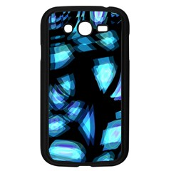 Blue light Samsung Galaxy Grand DUOS I9082 Case (Black)