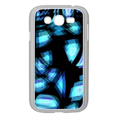 Blue light Samsung Galaxy Grand DUOS I9082 Case (White)