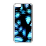 Blue light Apple iPhone 5C Seamless Case (White) Front