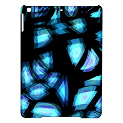 Blue light iPad Air Hardshell Cases