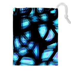 Blue light Drawstring Pouches (XXL)