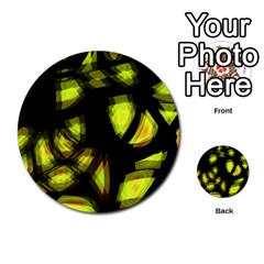 Yellow Light Multi Purpose Cards (round)