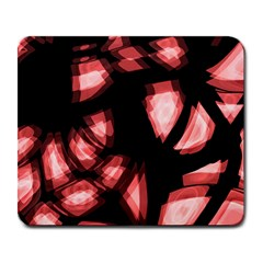 Red Light Large Mousepads by Valentinaart