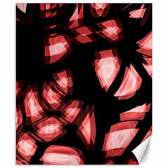 Red Light Canvas 8  X 10  by Valentinaart