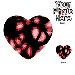 Red Light Multi Purpose Cards (heart)  by Valentinaart